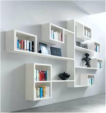 black wooden bookshelves decorative wall mounted shelving units