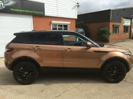 land rover brown second hand land rover range rover evoque sold going to hull for