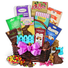 gift baskets for college students easter basket for college students by gourmetgiftbaskets