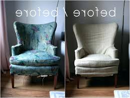 Wing Chair Cover Wing Chair Slipcover Diy Blue Square Cushion 1659 Gallery