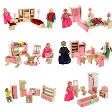 aliexpress com buy wooden dolls house furniture miniature