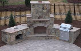 Outdoor Brick Fireplace Grill by Outdoor Fireplace Designs Plans And Ideas Beauty And Safety First