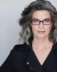 beautiful gray hair streaks best 25 grey hair and glasses ideas on pinterest grey hair with