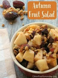 autumn fruit salad gluten free homemaker