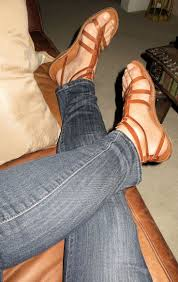 Images of Men Wearing Womens Sandals
