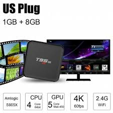 smart android sunvell t95m 4k hd smart android box tv 64bit 1gb 8gb 41 86
