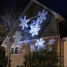 electric projector lights snowflakes 1ct lumabase