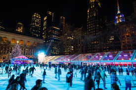How To Put Christmas Lights On A Tree by Best Places To Go Ice Skating In Nyc Including All Weather Rinks