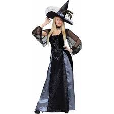 Witch Halloween Costumes Buy Fun World Gothic Maiden Witch Halloween Costume In Cheap