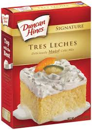 duncan hines signature tres leches cake mix hy vee aisles online