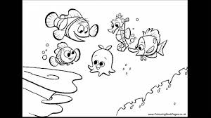 brilliant finding nemo coloring pages with finding nemo coloring