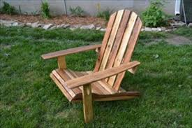 Skull Adirondack Chair How To Make A Pallet Chair Pallets Designs