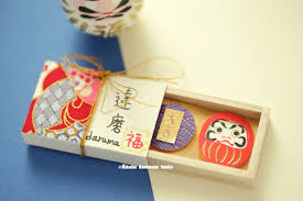 Japanese Gift by Daruma Matchbox Japanese Miniatures Matchbox Matchbox Card Cheer