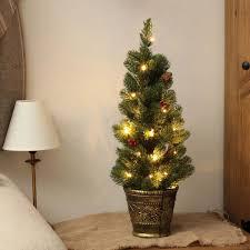 3ft pop up christmas tree christmas lights decoration