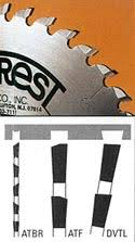 forrest table saw blades forrest saw blades application chart