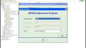 epson t13 resetter adjustment program free download epson l130 resetter waste ink pad counter youtube