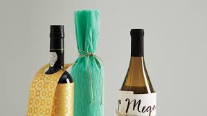 wine bottle gift wrap all wrapped up how to custom gift wrap a bottle of wine martha