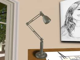 Drafting Table Light Fixtures Second Life Marketplace Antique Drafting Table Lamp