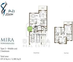 3 bedroom villa for sale in mira reem dubai uae own a space 9093