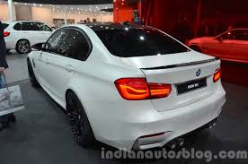 Bmw M3 2016 - 2016 bmw m3 facelift rear three quarter left at iaa 2015 indian
