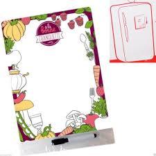 tableau magn騁ique cuisine mémo magnet franquette tableau magnétique pense bête aimanté frigo