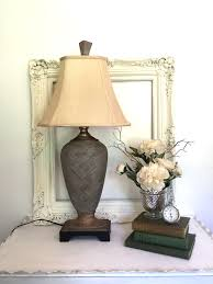 living room rustic table lamps living room small home decoration