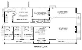 main floor plan of the most minimalist house ever designed