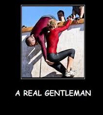 Gentleman Meme - a real gentleman jpg