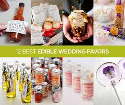 edible wedding favor ideas recipes gourmet pickle jars jam caramel chocolate sweet