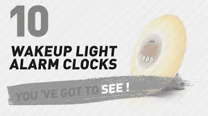 tecboss bedside l wake up light wakeup light alarm clocks new popular 2017 youtube