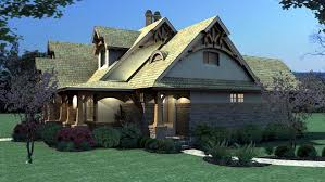 cottage craftsman tuscan house plan 65870