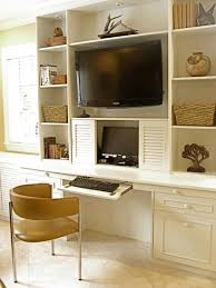 Tv Computer Desk Tv Wall Unit With Computer Desk Wall Units Amusing Wall Unit With