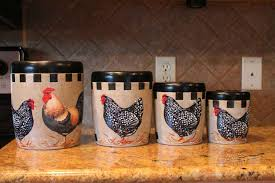 ceramic kitchen canister sets 64 rooster canister sets kitchen
