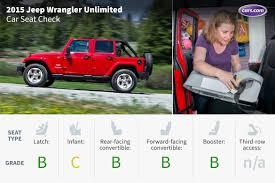 kids jeep wrangler 2015 jeep wrangler unlimited car seat check news cars com