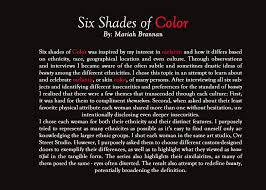shades of color portrait series six shades of color u2013 paiges of my heart