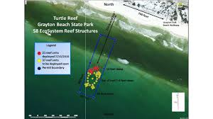 St Andrews State Park Map by South Walton Artificial Reefs At Grayton Beach State Park Sowal