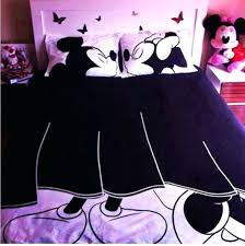 Couples Bed Set Scarf Bedding Bed Linen Blanket Disney Pillow Mickey