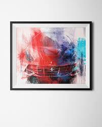 ferrari art ferrari f12 art print simply petrol fine car art gallery
