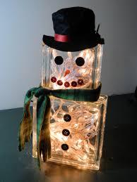 creating a lighted snow man designsbycnc