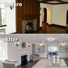 Tudor Homes Interior Design by Formal Living Room Transformation Restoring And Updating A 1920 U0027s