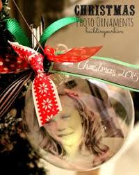 diy photo christmas ornaments photo transfer ornament and photo