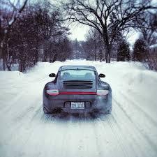 porsche 911 winter porschehobbyist driving a porsche 911 in winter