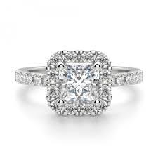 cheap princess cut engagement rings madrid accented princess cut engagement ring
