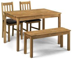 4 seater dining table with bench catalina oak brown faux leather bench dining set sale now on your
