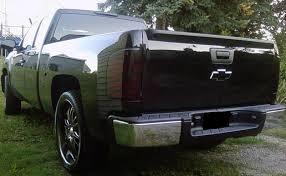 2000 chevy silverado tail light assembly 07 13 chevy silverado smoke tail light precut tint cover smoked