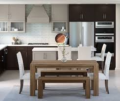 wood tone kitchen cabinets casual gray and textured woodtone purestyle kitchen