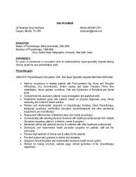 Certified Hand Therapist Resume Sample by Hand Therapist Cover Letter
