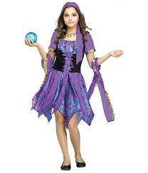 Big Kid Halloween Costumes Fortune Teller Magic Big Girls Gypsy Costume Girls Costumes