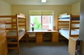 Dorm Desk Bookshelf Hope Hall North Undergraduate Housing Biola University