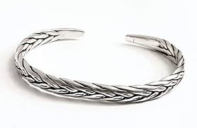 mens silver bangle bracelet images Men 39 s sterling silver bangle bracelet png